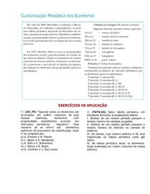 Lista de Exercícios Tabela Periodica 2013
