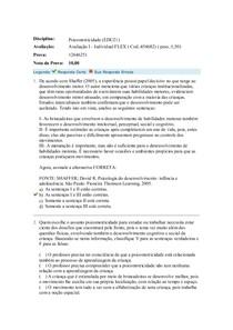 Acadêmico PSICOMOTRICIDADE I