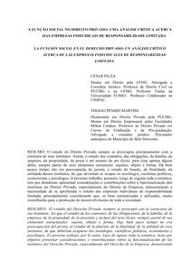 A FUNÇÃO SOCIAL NO DIREITO PRIVADO_ UMA ANÁLISE CRÍTICA ACERCA DAS EMPRESAS INDIVIDUAIS DE RESPONSABILIDADE LIMITADA