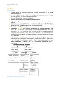 Pneumonia e síndrome do crupe
