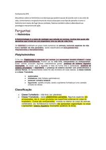SP4 Imunologia Parasitoses
