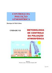Cap 7 Metodologia de controle da poluição atmosférica (1)