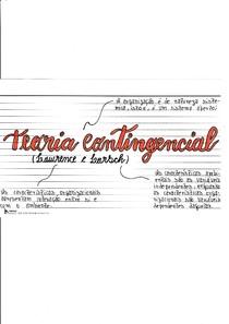 Teoria Contingencial (Lawrence e Lorsch)