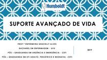 AULA 03 - SUPORTE AVANÇADO DE VIDA