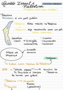 Questão Israel X Palestina