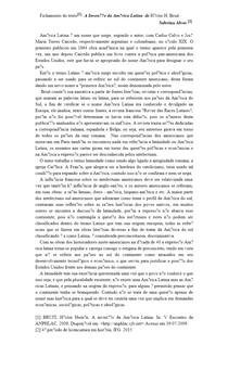 Fichamento do texto[1]: A Invenção da América Latina de Héctor H Bruit
