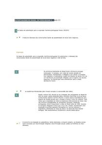 AULA (1 A 5) FORMAÇÃO SÓCIO-ECONÔMICA E POL. DA SOC. BRASILEIRA