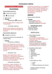 Eritrograma e Leucograma