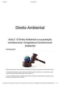 Direito Ambiental aula 3