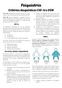 Classificação DSM e CID