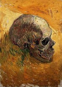 Vincent Willem van Gogh-Skull