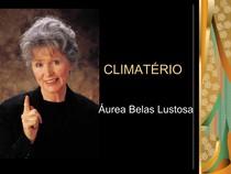 CLIMATÉRIO Áurea Belas Lustosa