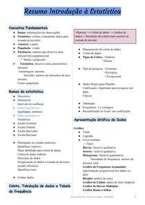 Conceitos básicos de Introdução à Estatística docx