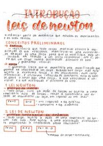 F1- Introdução Leis de Newton (1)