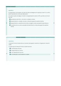A Atenção Primária em Saúde (APS) na resposta à pandemia de COVID-19 FGV