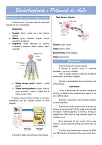 Bioeletrogênese e Potencial de ação