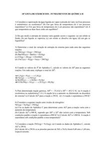 LISTA DE EXERCICIOS 10