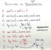 Pacotinho de Trigonometria