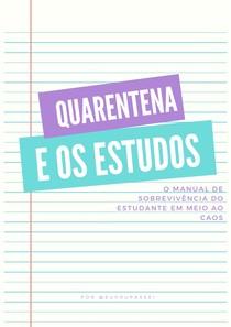 E-BOOK ESTUDOS NA QUARENTENA