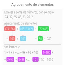 Agrupamento de elementos