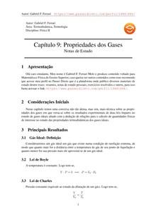 Notas de Estudo do Capítulo 9 de Física II do Moyses