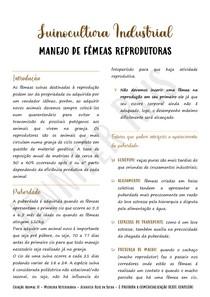 Suinocultura Industrial: Manejo Reprodutivo de Fêmeas