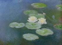 Water-Lilies Evening Effect - Claude Monet