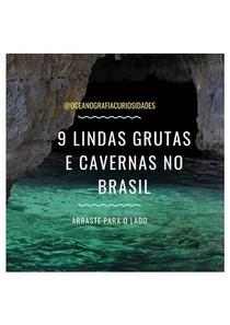 9 Grutas e Cavernas no Brasil