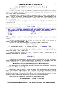 aula 14 - matrizes e determinantes (parte i )