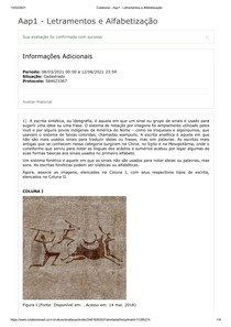 Aap1 - Letramentos e Alfabetização