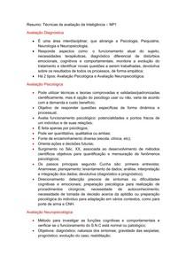 Resumo TAI NP1