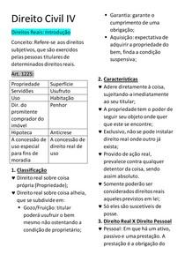 aula 1 - direitos reais - introdução