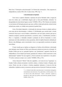 Fichamento Libertação ou descolonização, In: História das colonizações - Das Conquistas às independências, séculos XIII a XX. Cap.11 - Marc Ferro