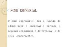 AULA 03   NOME EMPRESARIAL
