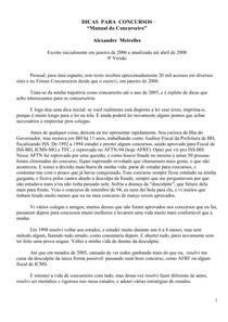 Concursos Fiscais Alexandre Meirelles Pdf