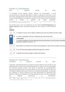 2°Apol - Sociolinguística