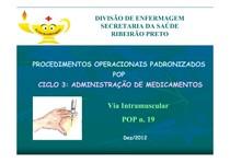 admin intramuscular pop 19