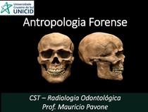 Aula Antropologia Forense - Parte 1 e parte 2
