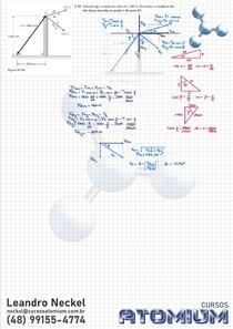 Exercício Resultante de Forças 2D - Beer Johnston 11ed Cap2 Ex2.36