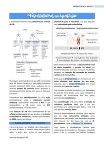 Vasodilatadores na hipertensão, FARMACOLOGIA - BBPM III