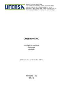Questionário_AnatoVet -I - 2ª avaliação