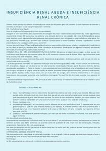 INSUFICIÊNCIA RENAL AGUDA E INSUFICIÊNCIA RENAL CRÔNICA