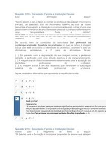APOL SOCIEDADE, FAMÍLIA E INSTITUIÇÃO ESCOLAR 2 1