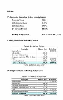 Tabela Markup