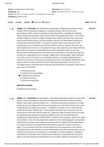 AV1 - Comportamento do consumidor (2018)