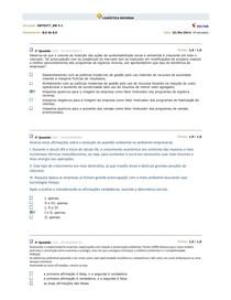 Logistica Reversa - Simulado 2014 V1