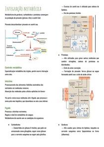 Integração metabólica