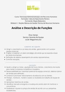 Trabalho de autonomia (Mod 2) Wayla Madureira
