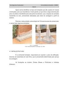 fundações - Tecnologia das Construções