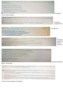 Questões N2 (com respostas) - Função e Disfunção I